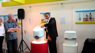 видео Биотуалет Porta Potti Excellence manual