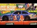 Hot Wheels RACING PIT STOP Challenge! Hot Wheels Museum. Kids' Science Museum and Playground