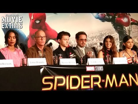 Spider-Man: Homecoming | Complete Press Conference with cast, director and producer