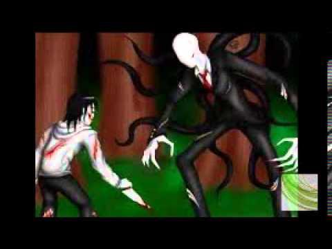 slenderman vs jeff the killer vs jane the killer - YouTube