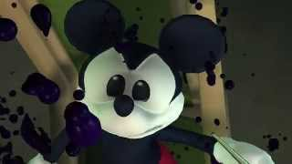 Disney: Epic Mickey Nintendo Wii HD video game movie trailer