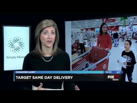 Simply Money: Target to offer same-day delivery