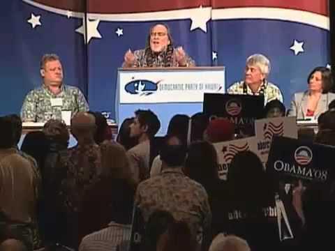 Neil Abercrombie on Barack Obama - video 1