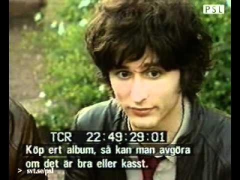 The Strokes PSL swedish tv interview 2001