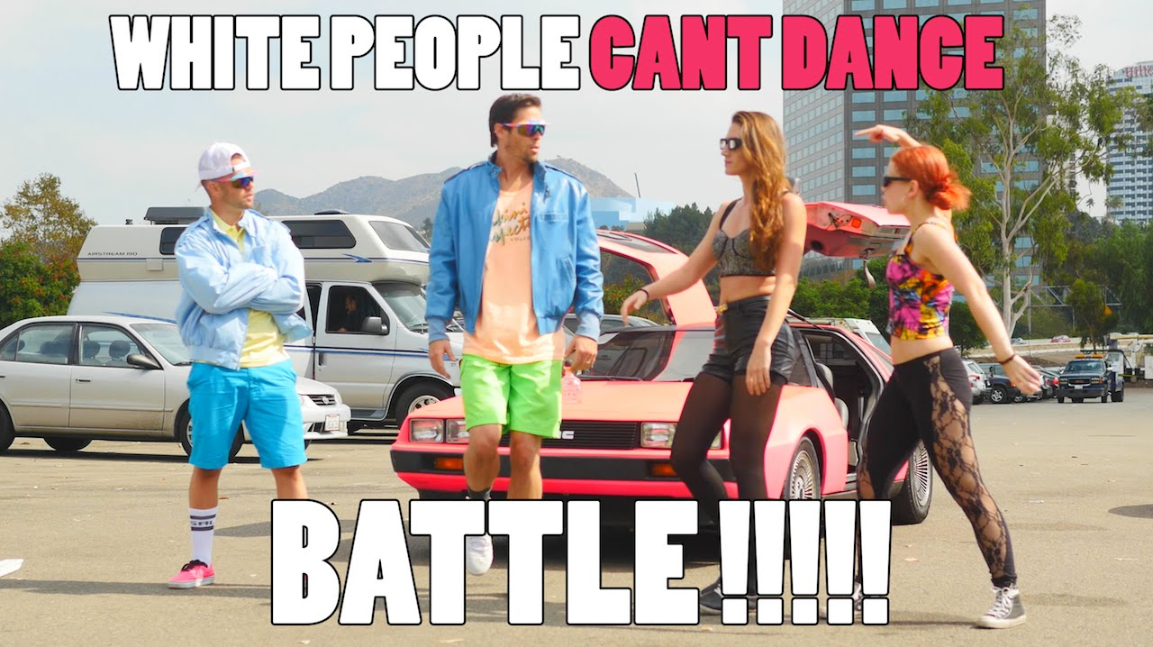 Download WHITE PEOPLE CAN'T DANCE   BATTLE!!