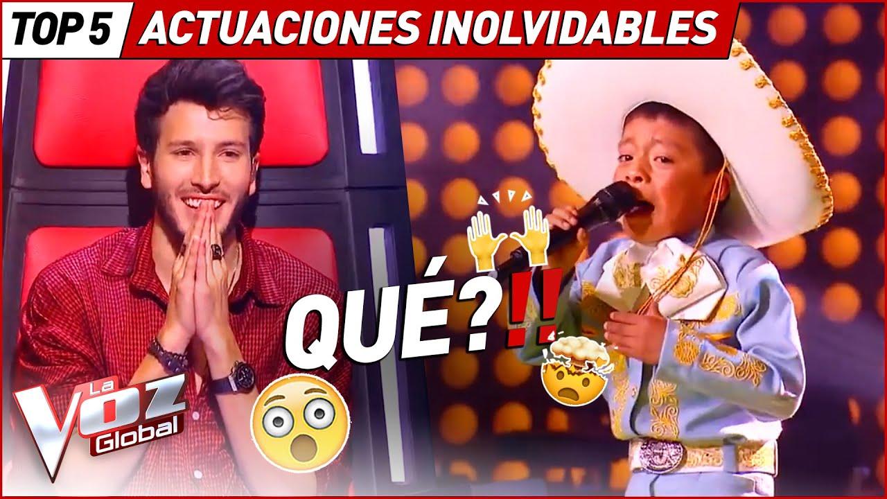 Los pequeños talents más inolvidables de La Voz Kids