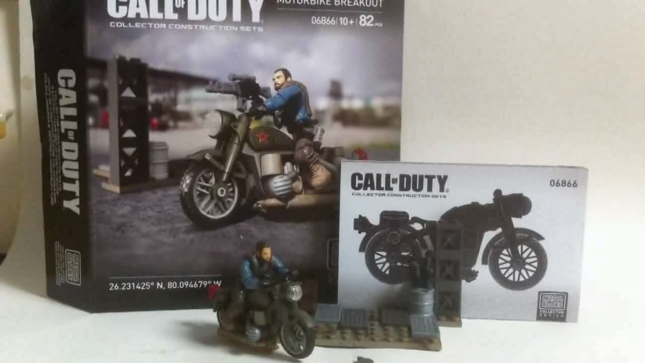 Mega bloks live construction call of duty 39 s motorcycle for Jamaica customs duty on motor vehicles