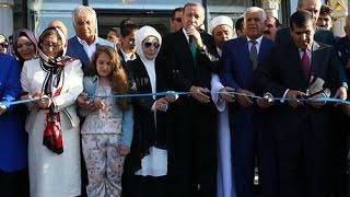 Cumhurbaşkanı Erdoğan, Mardin Hacı Osman Altunkaya Camisi'nin Açılış Törenine Katıldı 20.06.15