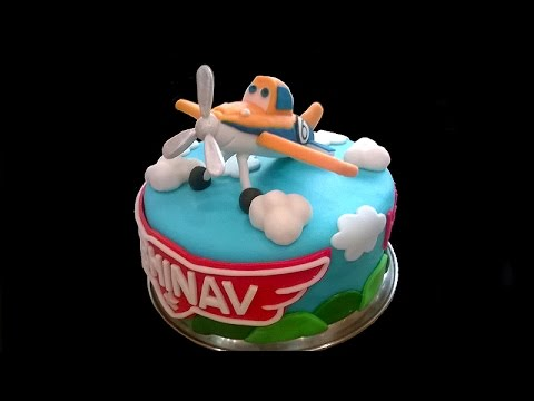 How To Make A Dusty Crophopper Planes Cake