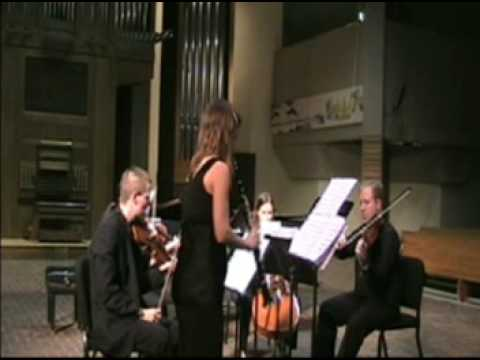 Clarinet Concerto Three Psalms by Mark Petering - excerpt - Fifth House Ensemble Performance