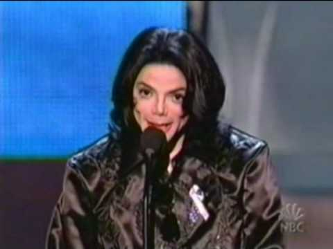Michael Jackson @ the Radio Music Awards 2003