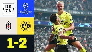 BVB lässt halbvollen Hexenkessel verstummen: Besiktas - Dortmund 1:2 | UEFA Champions League |DAZN