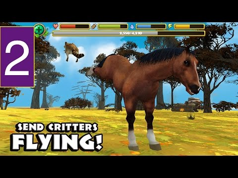 Wild Horse Simulator - Part 2 iPhone, iPad, and iPod touch   iPhone 5.