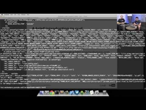 YouTube Developers Live: From API reference to code in minutes