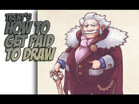 How to Get Paid To Draw!