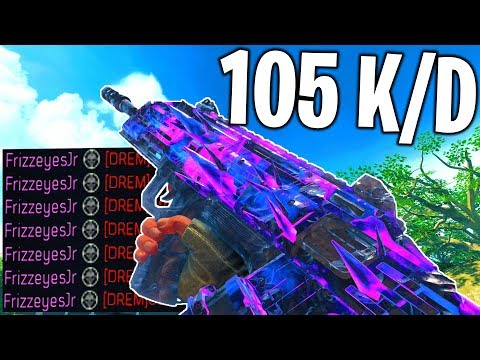 *NO RECOIL* SPITFIRE.. (105 K/D GAMEPLAY!) - COD BO4