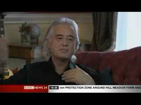 Led Zeppelin 2007 - Jimmy Page Interview (BBC)
