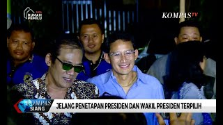 Alasan Prabowo-Sandiaga Tak Hadiri Penetapan Presiden Terpilih di KPU