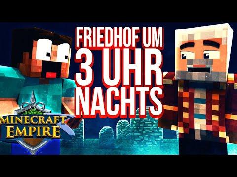 UM 3 UHR NACHTS AUF DEM FRIEDHOF! - Minecraft EMPIRE 🍖 #110