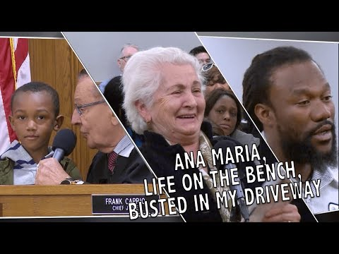 Ana Maria, Life On The Bench, Busted In My Driveway And More!