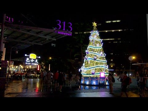 [2K] Walk from Plaza Singapura to Orchard Road (Christmas 2017)