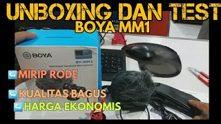 #boyamm1 #microfonemurah #unboxingboya Unboxing Boya MM1 Microfone Mirip Rode Lavarier Microphone