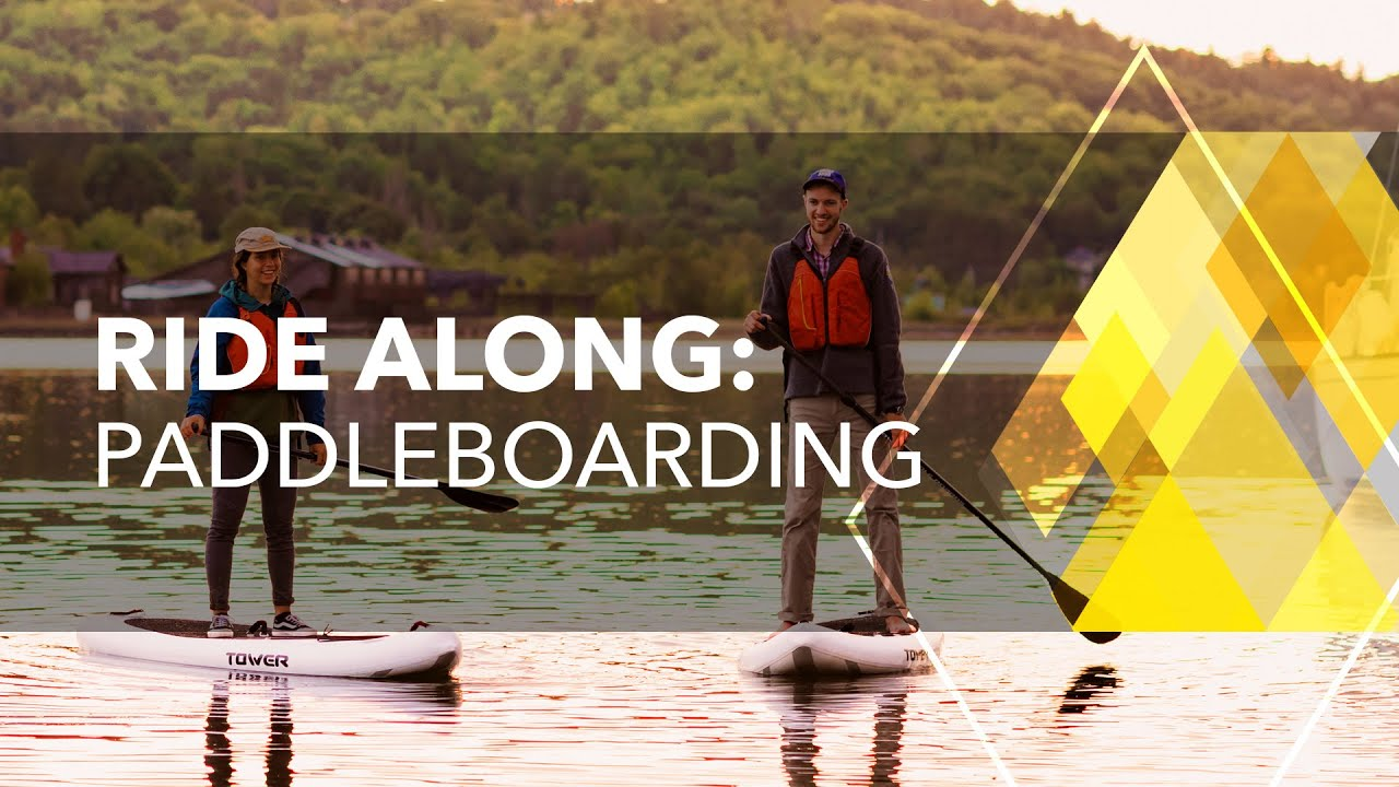 Preview image for Ride Along: Paddleboarding video