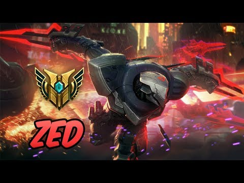 HOW TO PLAY ZED | Build & Runes | Diamond PROJECT: Zed | League of Legends