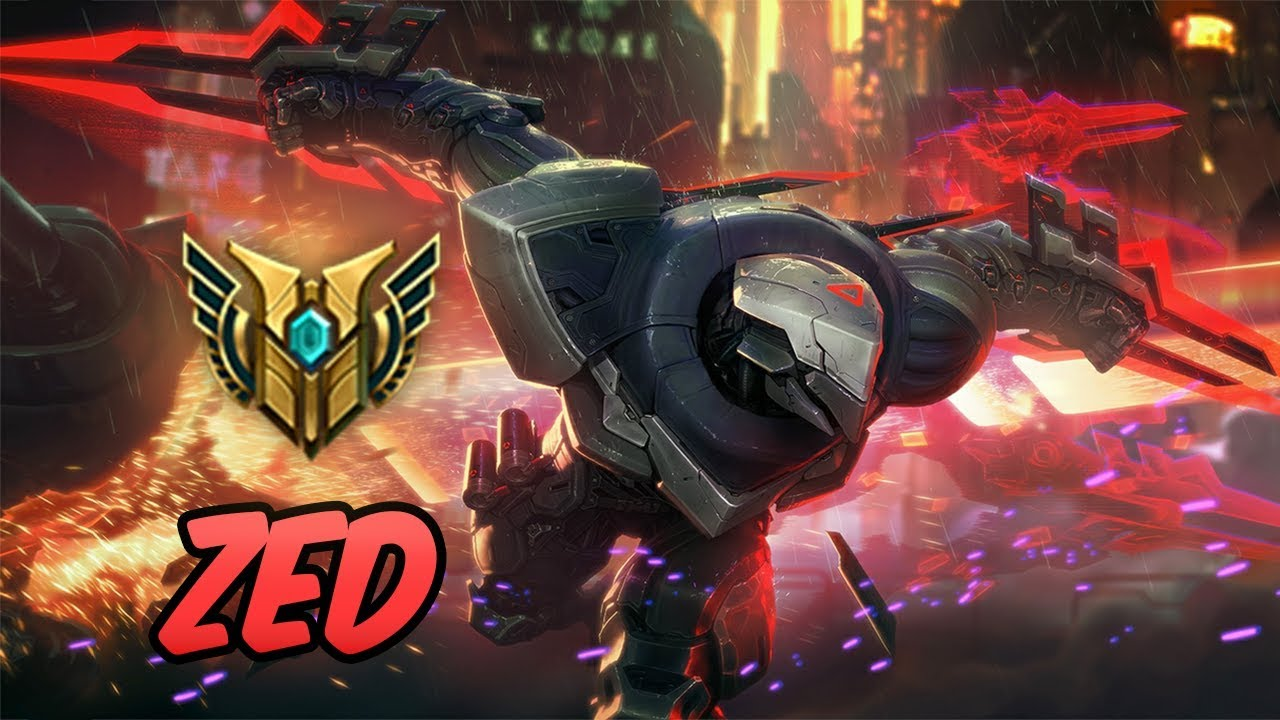 SKT T1 Zed Mid Lane - League of Legends - Full Game ...