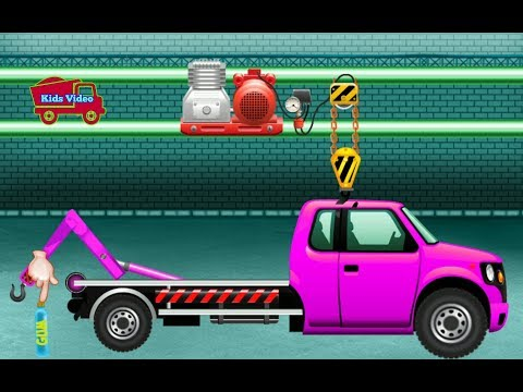 Kids Video Game | Game Video car repair for children