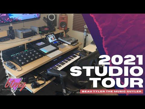 2021 Studio Tour | Akai Force, Maschine MK3, SP-404, M1 Mac and More!