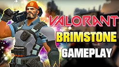 VALORANT X BRIMSTONE 😀 [Stream Highlight Gameplay Deutsch]