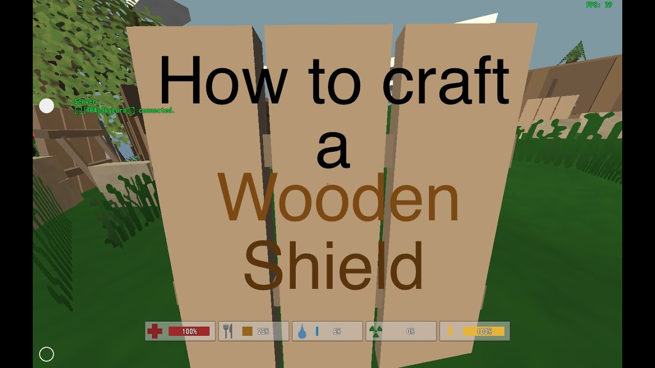 How To Craft A Minecraft Shield
