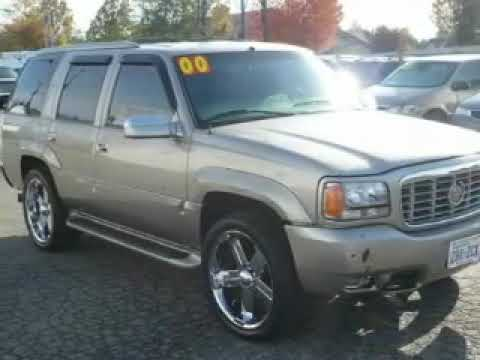 2000 Cadillac Escalade Lynnwood WA - YouTube
