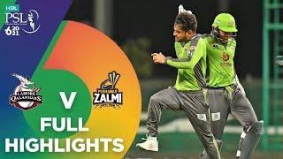 Full Highlights | Lahore Qalandars vs Peshawar Zalmi | Match 17 | HBL PSL 6 | MG2T