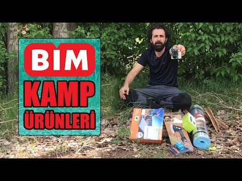 Çekilişle Hepsini Vereceğim - Bim'e Gelen Kamp Ürünleri