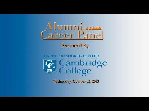 Cambridge College Alumni Career Panel Discussion