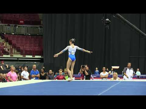 Delaney Fisher - Floor Exercise - 2018 GK U.S. Classic - Junior Competition