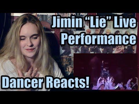"Dancer Reacts: Jimin ""Lie"" Live Performance"