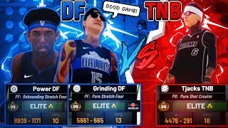 DF VS TNB: WHAT IS THE BEST CLAN? BEST OUT OF 3 SERIES! 99 OVERALL POWER + GRINDING DF BEST DUO?