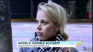 Fashion Editor Walks Into Propeller, Survives