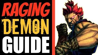 Raging Demon Tutorial - How & When to Use it - Ultra Street Fighter IV
