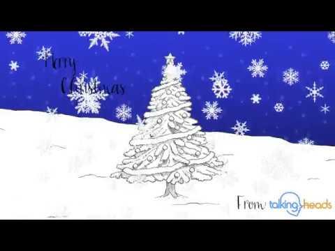 TalkingHeads Christmas Card