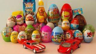 30 Sürpriz Yumurta Açma | Sürpriz Yumurta izle - Yeni Oyuncak ve Yumurtalar Kinder Surprise Eggs HD