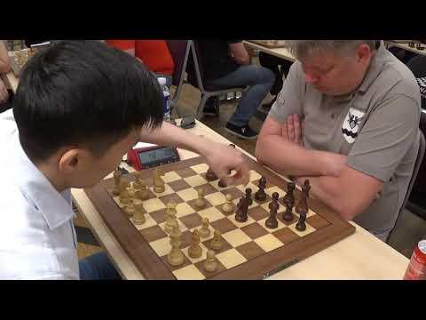 """Piece down"": GM Rinat Jumabayev - GM Alexei Shirov, Slav defense, Blitz chess"