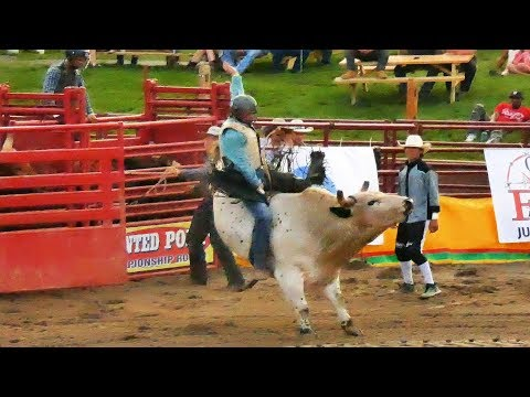 Stampede Rodeo at Orange County Fair Speedway 7/5/2019 (4K)