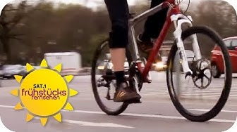 Tipps für GESUNDES Fahrrad fahren | SAT.1 Frühstücksfernsehen