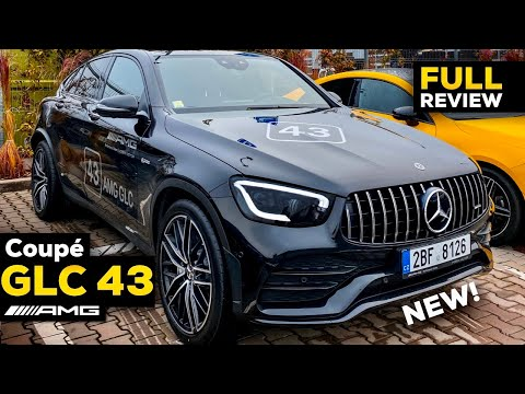 2020 MERCEDES AMG GLC 43 Coupé NEW Facelift FULL Review BETTER Than BMW X3?! Interior Exterior