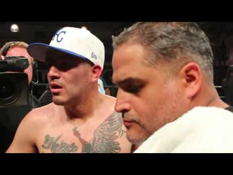 Exclusive!!! Brandon Rios KO And Ring Side Interview