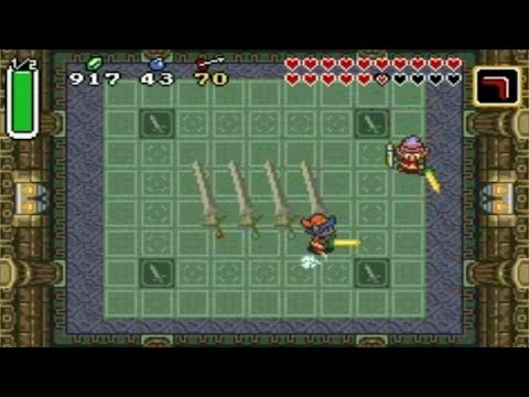 The Legend of Zelda: A Link to the Past (GBA) Extra - Palace of the Four Sword + Alternate Ending